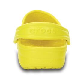 Crocs Classic Clogs Kids Lemon